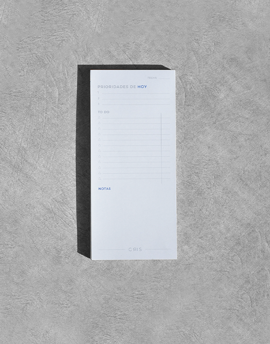 Priority Notepad Azul 1-2