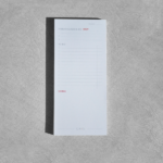 Priority Notepad Granate 1-2