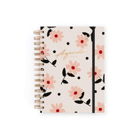 agenda-sin-fechas-flores-semananotas